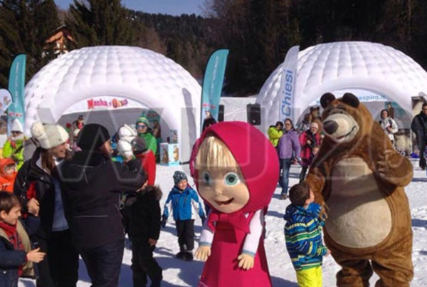 Masha e Orso Snow Tales on Tour